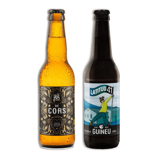 Pack Cervezas Artesanas As Cors y Latitud