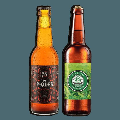 Pack Cervezas artesanas As de Piques y Ipa Flipa