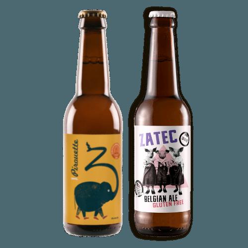 Pack Cervezas Artesanas Pirouette y Zatec